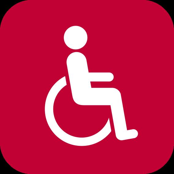 Service für Menschen mit Handicap