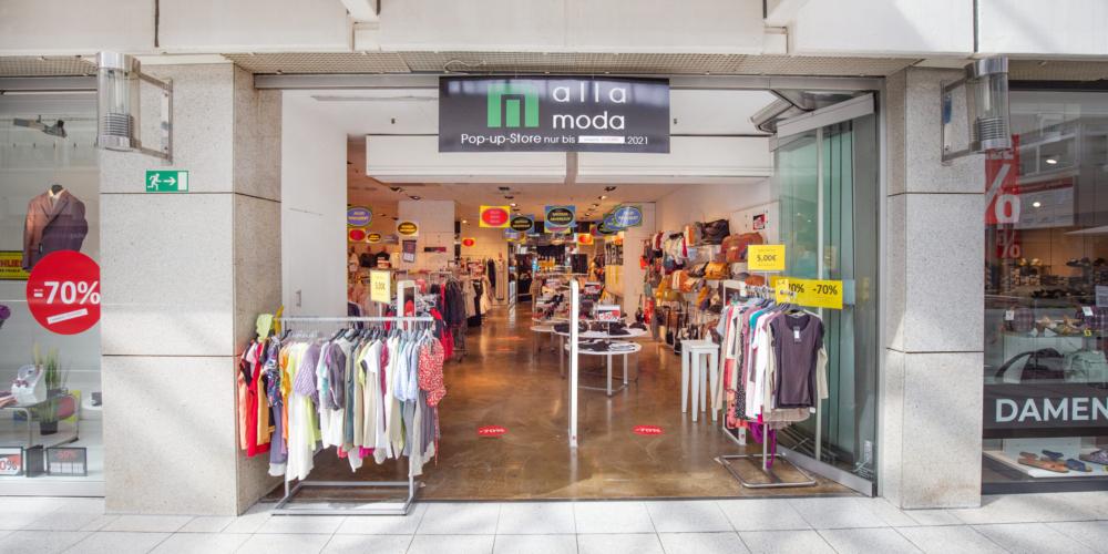 alla moda Pop-Up Store